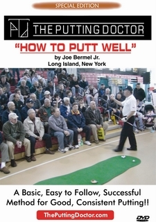 "Special Edition DVD ""HOW TO PUTT WELL"""